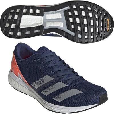 adidas   アディゼロボストン8      adizero   BOSTON 8    EG6639  ランニングシューズ   ネイビー  50%OFF アディダス