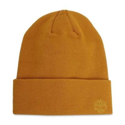 ティンバーランド 帽子 アクセサリー レディース Women's Tonal 3D Embroidery Beanie Hat Tawny Olive