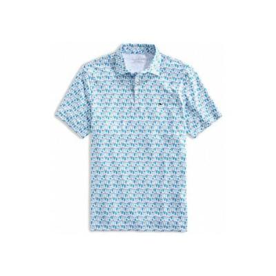 ヴァインヤードヴァインズ メンズ シャツ トップス Printed Sankaty Polo