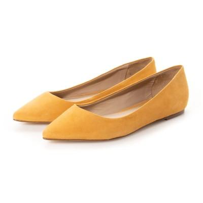 エスメラルダ インポート Esmeralda import 【PAOLA RIBONI/パオラ リボーニ】シンプルバレエシューズ (オレンジ)