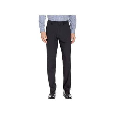 ケネスコール Solid Stretch Gab Modern Fit Flat Front Dress Pants メンズ パンツ ズボン Black