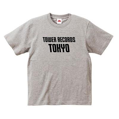 タワレコ TOKYO T-shirt グレー Sサイズ[MD01-5532]