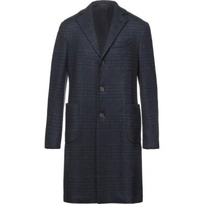 ラルディーニ LARDINI メンズ コート アウター Coat Dark blue
