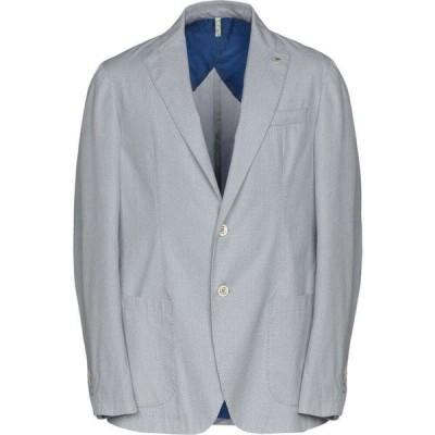ドメニコ タリエンテ DOMENICO TAGLIENTE メンズ スーツ・ジャケット アウター blazer Light grey