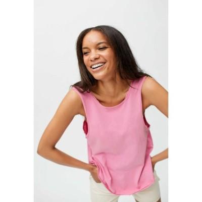 アーバンアウトフィッターズ Urban Outfitters レディース タンクトップ トップス UO Tomorrow V-Back Muscle Tank Pink