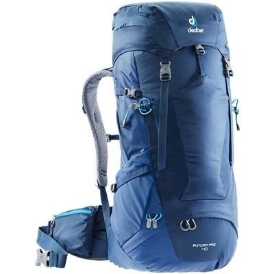 Deuter Futura プロ 40 Backpacking パック with デタッチブル レイン カバー, ミッドナイト/Ste(海外取寄せ品)
