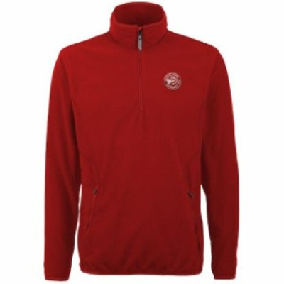 Antigua アンティグア スポーツ用品  Antigua Atlanta Hawks Red Ice Quarter Zip Lightweight Pullover Jacket
