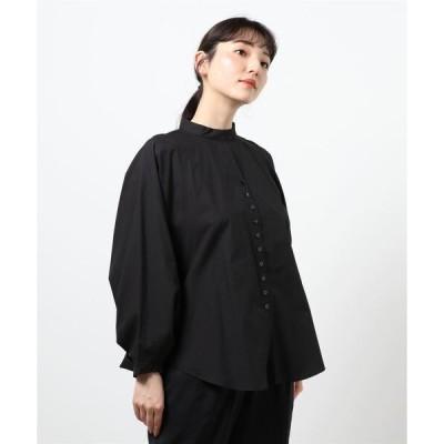 シャツ ブラウス (mici)バックギャザーシャツ