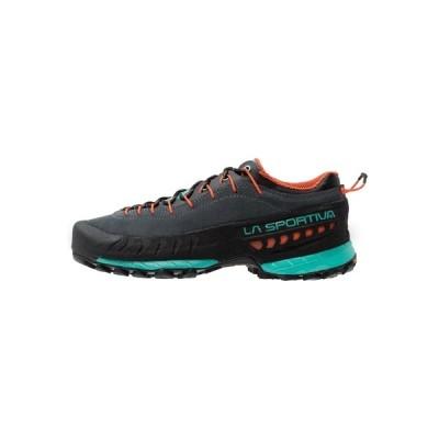 ラスポルティバ シューズ レディース ハイキング TX4 WOMAN - Hiking shoes - carbon/aqua