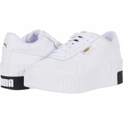 プーマ PUMA レディース シューズ・靴 ウェッジソール Cali Wedge Puma White/Puma Black
