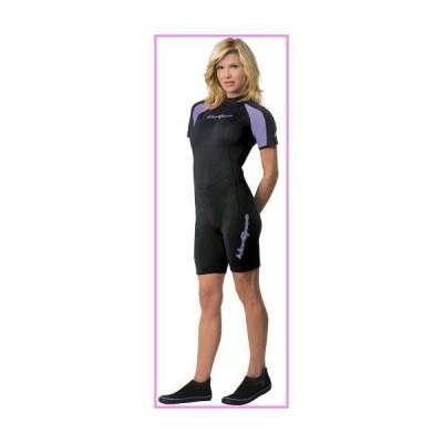 【送料無料】NeoSport Mens and Womens 3mm Short Wetsuit - Scuba Diving, Snorkeling and Water Sports - Comfort, Flexible and Anatomical