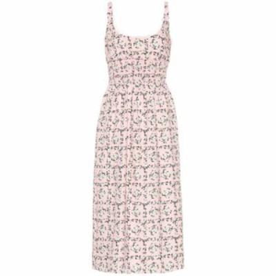 エミリア ウィックステッド Emilia Wickstead レディース ワンピース ワンピース・ドレス Giovanna floral midi dress Square Rose