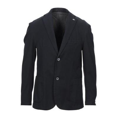 BARBATI テーラードジャケット ダークブルー 54 コットン 98% / ポリウレタン 2% テーラードジャケット