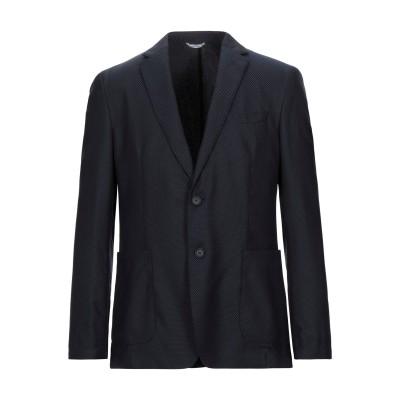 HUGO HUGO BOSS テーラードジャケット ダークブルー 50 バージンウール 76% / ナイロン 24% / ポリエステル テーラードジ
