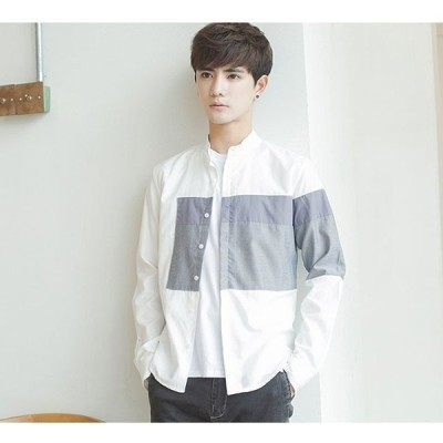 シャツメンズ大きいサイズカジュアルシャツ長袖シャツメンズシャツメンズファッションオシャレ男子紳士用