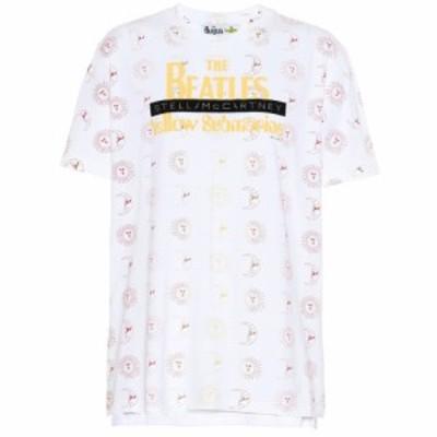 ステラ マッカートニー Stella McCartney レディース Tシャツ トップス Yellow Submarine cotton T-shirt Ivory