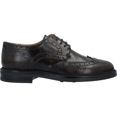 ベリー BRUNO VERRI メンズ シューズ・靴 laced shoes Dark brown