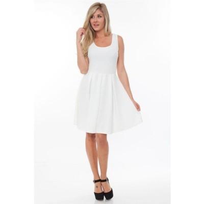 ホワイトマーク レディース ワンピース トップス Women's Crystal Dress