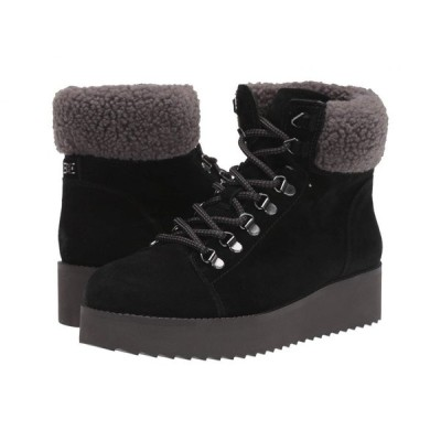 サム エデルマン Sam Edelman レディース ブーツ シューズ・靴 Franc Black Wr Velutto Suede Leather/Faux Fur