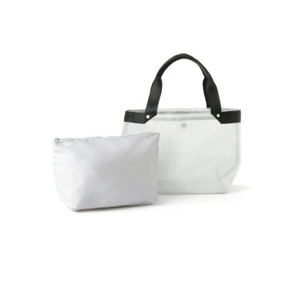SOUP(スープ) バッグインバッグ付きメッシュトートバッグ