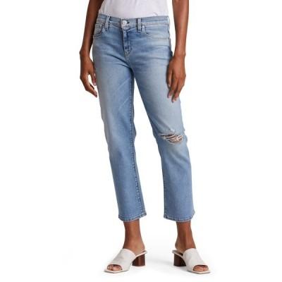 ハドソンジーンズ レディース デニムパンツ ボトムス Nico Mid Rise Cropped Straight Leg Jeans RECOVER