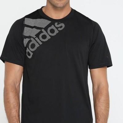 アディダス メンズ スポーツ用品 Print T-shirt - black