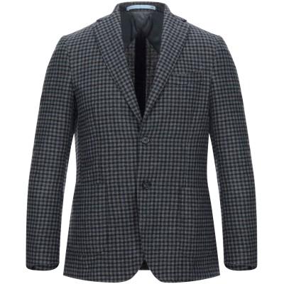 HERMAN & SONS テーラードジャケット グレー 48 ウール 60% / ポリエステル 35% / ナイロン 5% テーラードジャケット