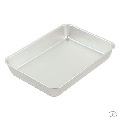 パール金属 S&B アルミ製角バット8枚取 (400×290) HB-3611 キッチンパット 厨房 プレート
