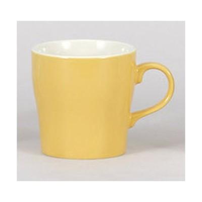 マグカップ モーニングイエローマグ [12.3 x 8.9 x 9cm 350cc]  料亭 旅館 和食器 飲食店 業務用