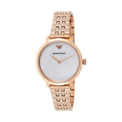 Emporio Armani orologio Modern Slim 32mm donna madreperla acciaio finitura
