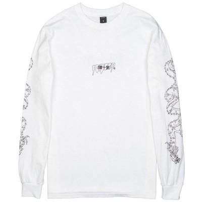 テンディープ 10 Deep メンズ 長袖Tシャツ トップス Kanji Long Sleeve Tee white