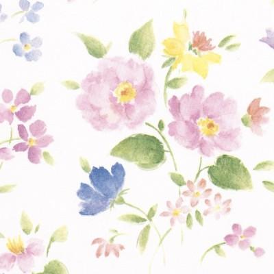 花柄ラッピング包装紙(花づくし)