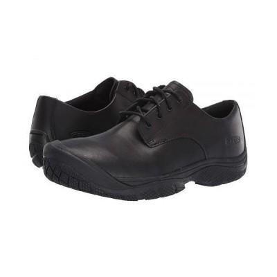Keen キーン メンズ 男性用 シューズ 靴 スニーカー 運動靴 Soft Toe Kanteen Oxford - Black/Black