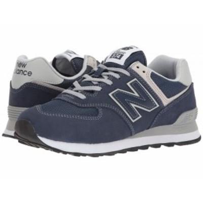 New Balance Classics ニューバランス クラシック レディース 女性用 シューズ 靴 スニーカー 運動靴 WL574v2 Navy/White【送料無料】