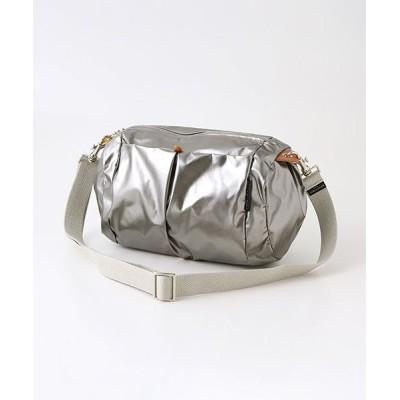 brontibayparis/ブロンティベイパリス メタリックカラーショルダーバッグ「マンマミーア」 チタニウム F
