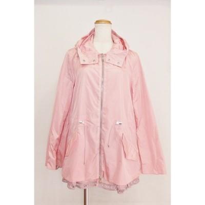 MONCLER モンクレール  LOTY ナイロンジャケット スプリングコート フレア フード付き  2 ピンク