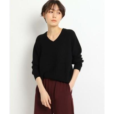 JET / ジェット 【ウォッシャブル】シルク混Vネックニットプルオーバー