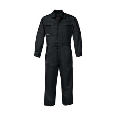 ジーベック(XEBEC) KAKUDAつなぎ 90/黒 34880 作業服 作業着 ワークウエア ワークウェア メンズ レディース