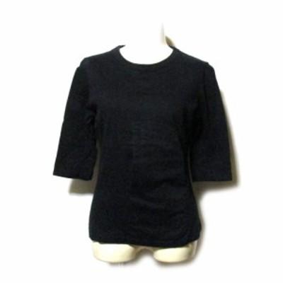 Jean Paul GAULTIER ジャンポールゴルチエ 「40」ストレッチTシャツ (黒 ブラック ゴルチェ) 130947 【中古】