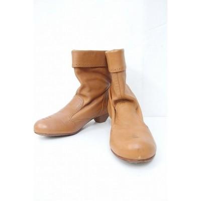 DIESEL ディーゼル  diesel genuine leather ブーツ  38 ブラウン 中古