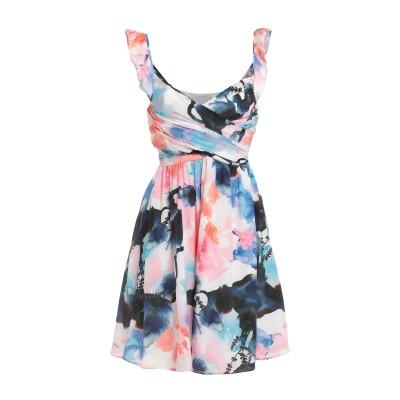 KORALLINE ミニワンピース&ドレス ホワイト 46 シルク 100% ミニワンピース&ドレス