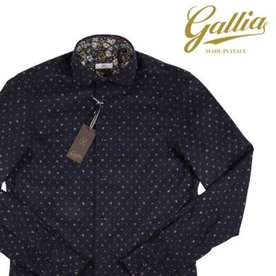 Gallia(ガリア) 長袖シャツ GA5A75 ネイビー 41 18205 【W18208】