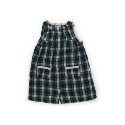 ミキハウス mikiHOUSE ワンピース 90サイズ 女の子 子供服 ベビー服 キッズ