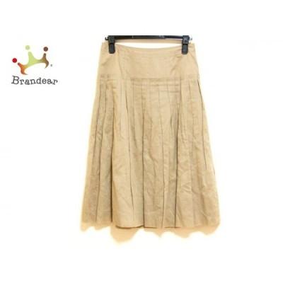 バーバリーロンドン Burberry LONDON スカート サイズ38 L レディース 美品 ブラウン   スペシャル特価 20200731