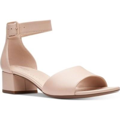 クラークス Clarks レディース サンダル・ミュール シューズ・靴 Collection Elisa Dedra Dress Sandals Blush Leather