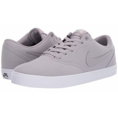 ナイキ Nike SB メンズ スニーカー シューズ・靴 check solar canvas Atmosphere Grey/Atmosphere Grey/White