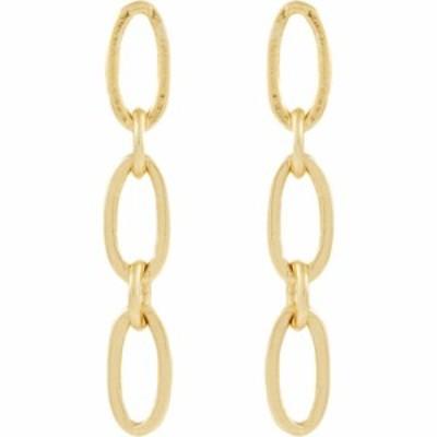 メイドウェル Madewell レディース イヤリング・ピアス ジュエリー・アクセサリー Paperclip Chain Earrings Vintage Gold