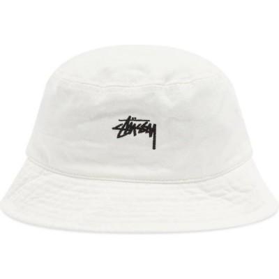 ステューシー Stussy メンズ ハット バケットハット 帽子 stock bucket hat Natural