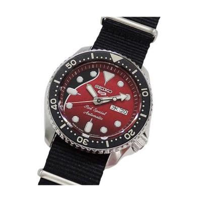 セイコー 時計 4R36-08H0 SBSA073 5スポーツ ブライアン・メイコラボ レッドスペシャル 自動巻き AT メンズ
