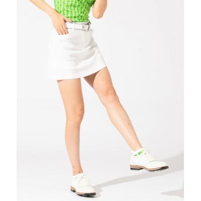 【WOMEN】【撥水 / ストレッチ】ストレッチバックメッシュ スカート